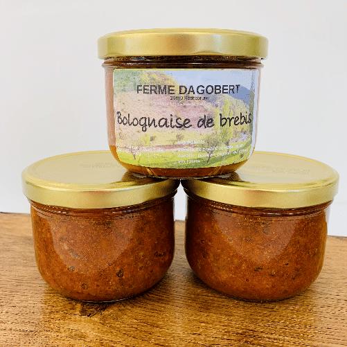 Sauce Bolognaise de brebis